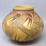 Hopi  Pueblo pottery hand made by Jean Sahmie