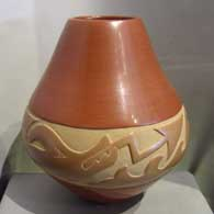 Pueblo pottery hand made by Maria Martinez and Popovi Da