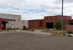 The Hopi Cultural Center from the parking lot